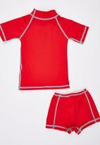 Lizzard - Rashvest Set Red