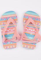 Roxy - Stripe Delight  Flip Flop Mid Pink