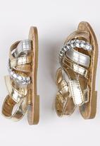 POP CANDY - Girls  Strappy Sandal Silver
