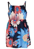 POP CANDY - Printed Floral Summer Dress Multi-colour