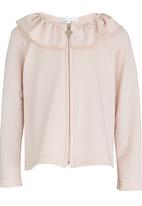See-Saw - Frill Collar Jacket Pale Pink