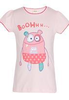 Soobe - Girls  Printed Tee Pale Pink