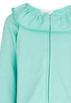 See-Saw - Frill Collar Jacket Mid Green