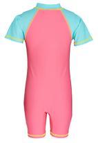 POP CANDY - Girls  Printed Swim Set Mid Pink