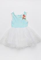 POP CANDY - Girls  Summer   Dress Pale Blue