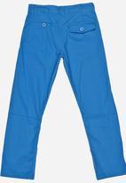 POP CANDY - Boys Twill Pants Blue