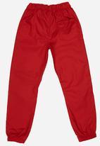 POP CANDY - Boys Twill Jogger Dark Red