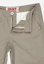 SOVIET - Cotton Short With Turn Up Grey