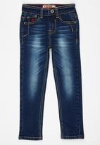 SOVIET - Skinny Jeans Dark Blue