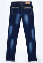 SOVIET - SkinnyJeans Dark Blue