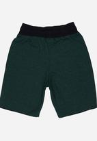See-Saw - Applique Shorts Green