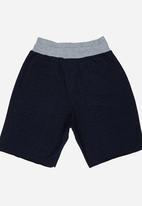 Rebel Republic - Applique Shorts Blue