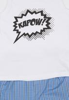 See-Saw - Kapow PJ set Blue