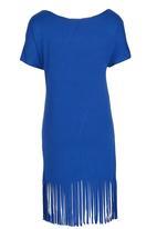 Rebel Republic - Fringe Dress Blue
