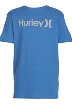 Hurley - Hurley  Seasonal Heather Tee Blue