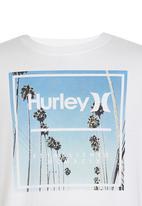 Hurley - Hurley Spinner Photo   Tee White