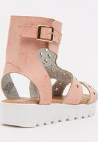 GLAM GIRLS - Cut Out Sandal Mid Pink