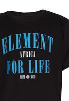 Element - Printed Tee Black