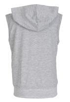 See-Saw - Hooded Gilet Grey
