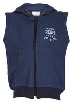 See-Saw - Hooded Gilet Navy