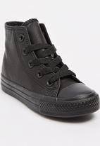 SOVIET - High Top PU Sneaker Black