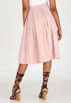 STYLE REPUBLIC - Volume Midi Skirt Pale Pink