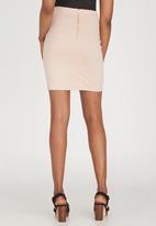 c(inch) - Basic Mini Skirt Pale Pink