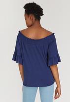 c(inch) - Bardot T-shirt Navy