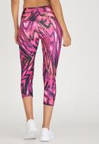 OTG - OTG by Fit Whirlwind Capri Mid Pink