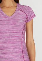OTG - OTG Motion Run V-neck Tee Mid Purple