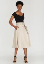 STYLE REPUBLIC - Fit&Flare Skirt Stone