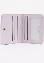 POP CANDY - Girls Printed Zip Purse Mid Purple