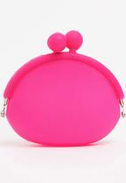 POP CANDY - Girls Clip Purse Mid Pink