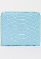 POP CANDY - Girls Printed Zip Purse Blue