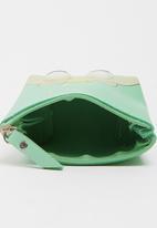 POP CANDY - Girls Printed Purse Green