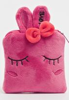 POP CANDY - Girls Printed Purse Dark Pink
