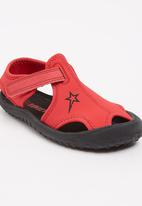 SOVIET - Sebbie Sandal Red