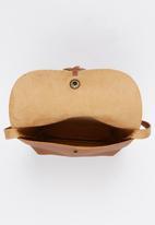 POP CANDY - Girls Tassel Handbag Tan
