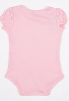POP CANDY - Printed  Bodysuit Mid Pink