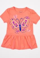 POP CANDY - Girls  Printed Dress Orange