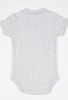 POP CANDY - Printed Boys Bodysuit Grey
