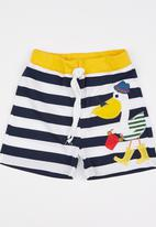 POP CANDY - Printed Stripe Short Multi-colour