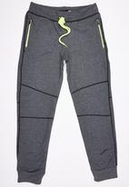 Lithe - Fleece Joggers Dark Grey