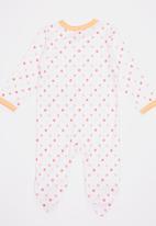 POP CANDY - Girls Printed Romper Pale Pink