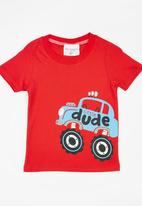 POP CANDY - Printed Tee Red