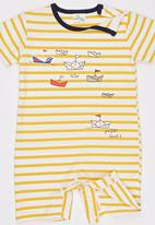 POP CANDY - Printed Romper Yellow