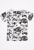 POP CANDY - Printed Tee Black and White