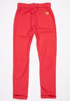 POP CANDY - Boys Jogger Red