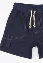 See-Saw - Pull On Twill Shorts Navy