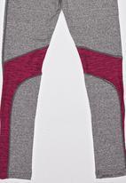 Lithe - 3/4 Spandex Tights Grey